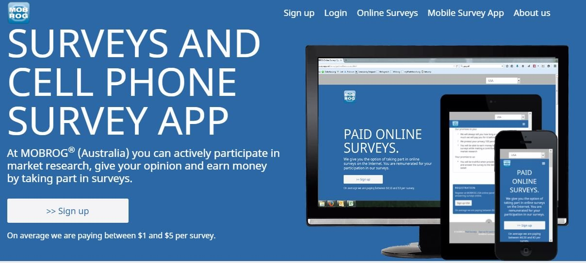 mobrog australian survey app