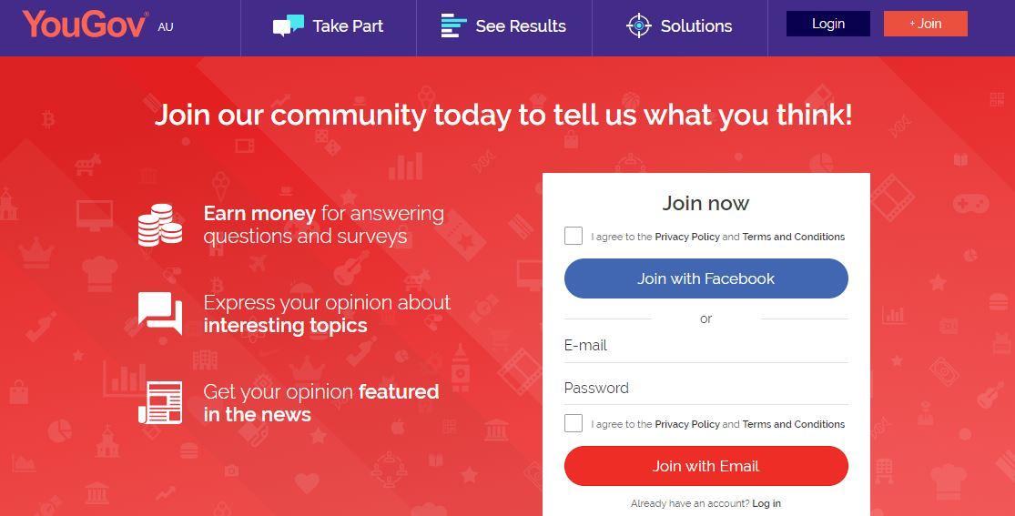 apps to take surveys yougov australia
