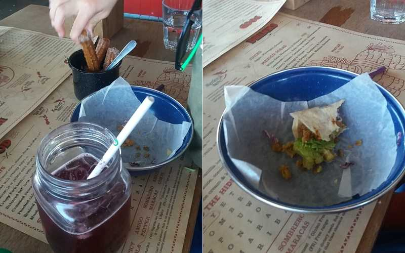 Definitely the best kids eat free offer in Christchurch, avocado taco, jamaica drink and churros for dessert.