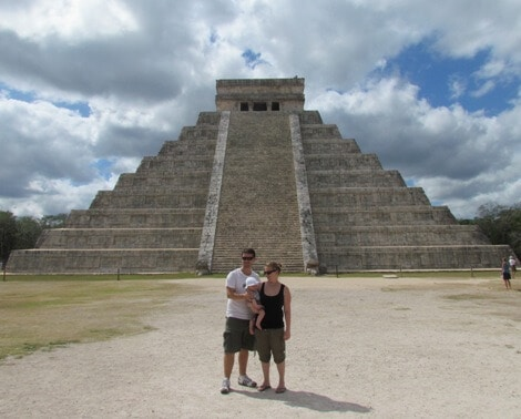 We spread out visiting sights in order to save money