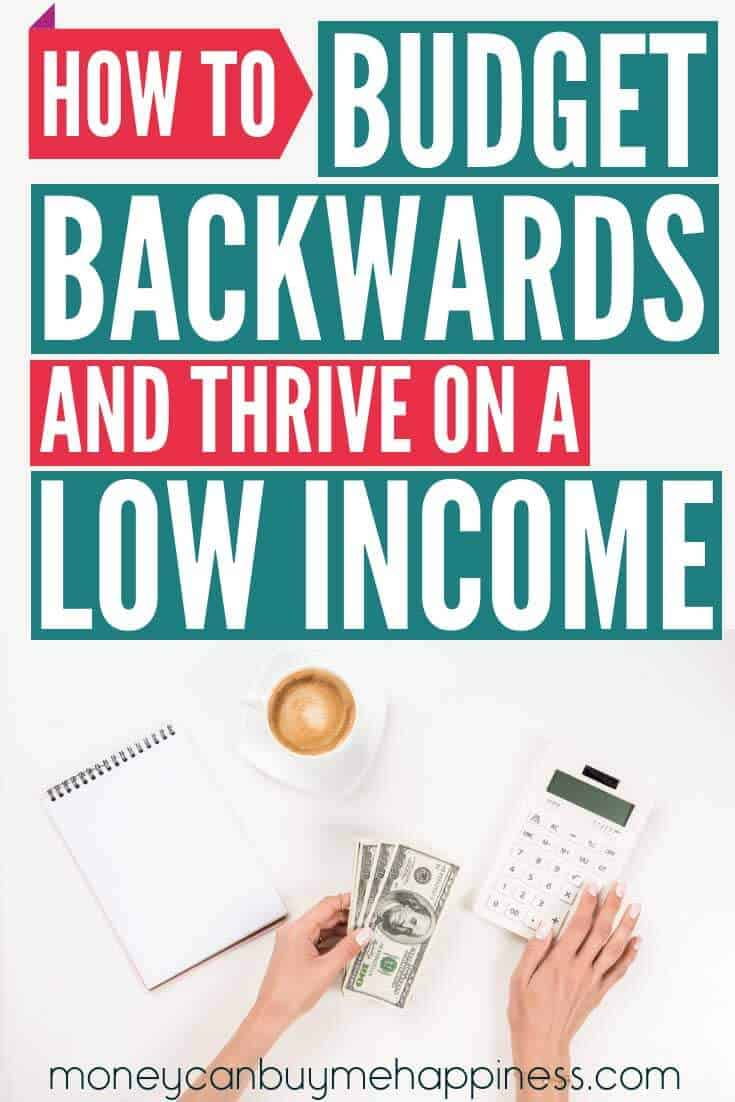 How to do a budget when you're on a low income. If you're wondering how to make a budget when money is tight, one of my best budgeting tips is to work around your core expenses. In this post, I show you how to budget when you don't have a lot of money, my tricks for sticking to a budget, and how we live and save money on a minimum wage budget. Living on a budget doesn't have to be awful. Click through to read the post now.
