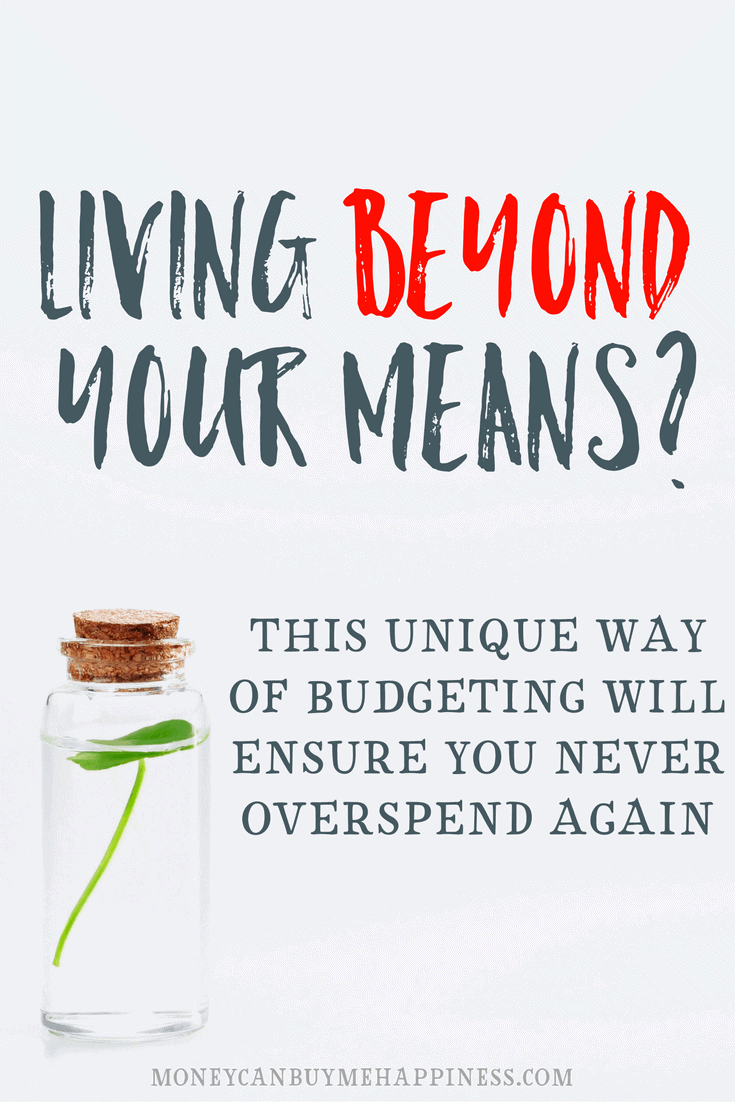 If you're living beyond your means or struggling to get out of debt, you should read this post. Our lives are so much better since we've started budgeting this way. It's really simple, you should try it!