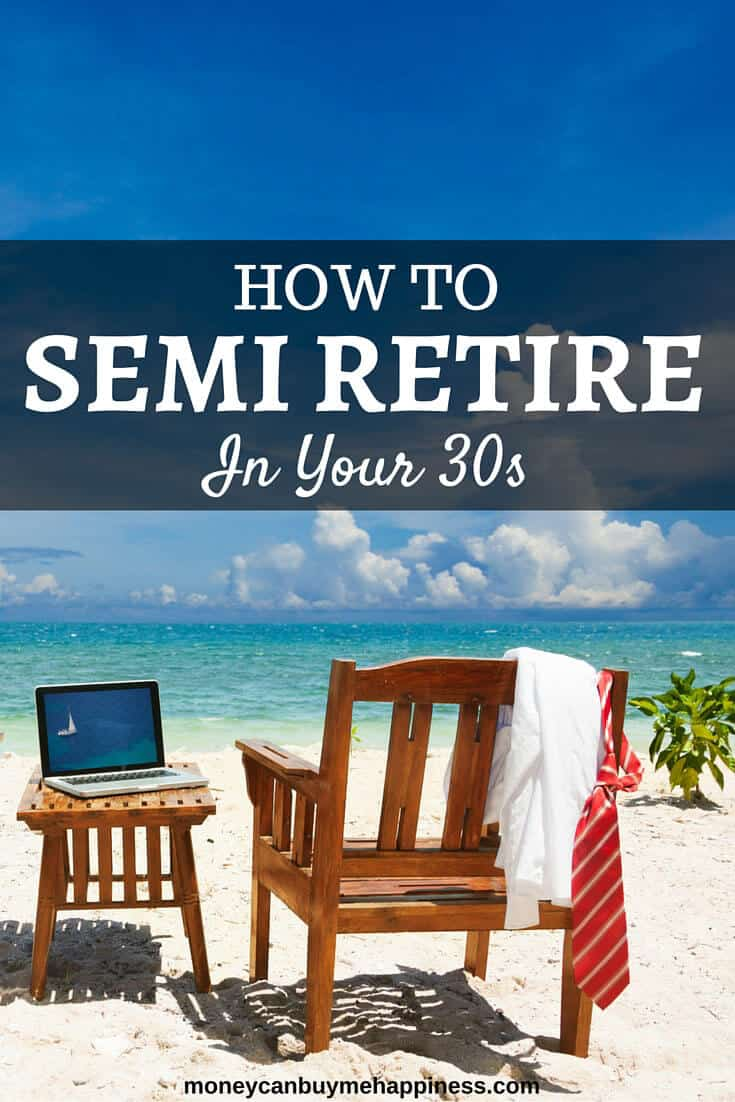 How to semi retire in your 30s
