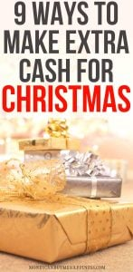 9 Ways to Make Extra Cash for Christmas