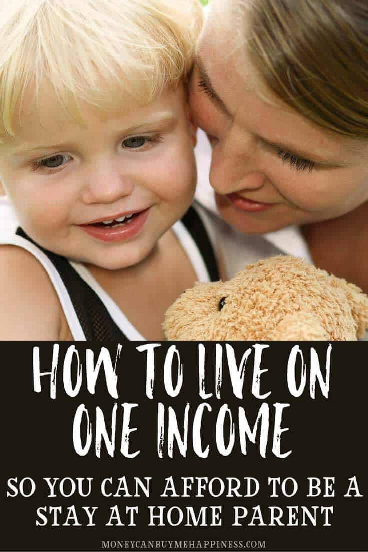 How to afford to be a stay at home mom | Living on one income