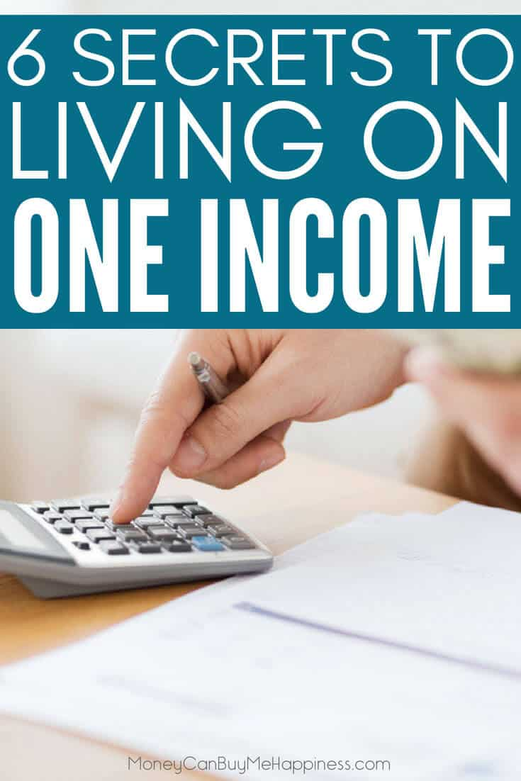 Supporting a family on one income is not the norm these days, but it's totally achievable. These tips show you how to live on one income and thrive! We did, and you can too!