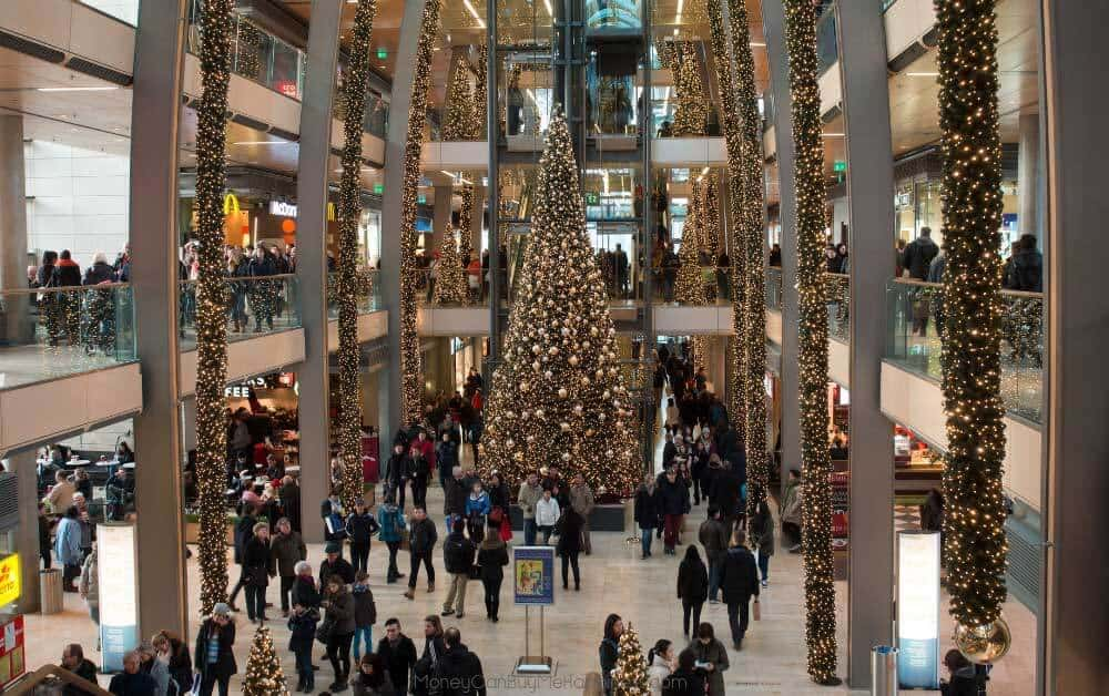 If you can bear the malls in the holidays,a great way to make extra money for Christmas is to work a seasonal job.