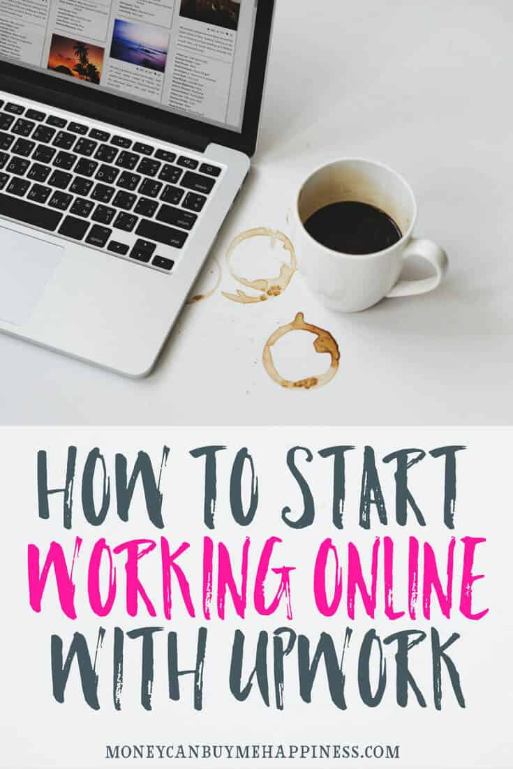 how to get your first job and work online upwork