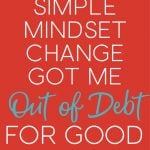 Paying off credit card debt has completely changed my life. If you're struggling with credit card debt you'll want to read this post, it's such a simple strategy to change the way you think about debt. get out of debt   paydown debt   credit card debt