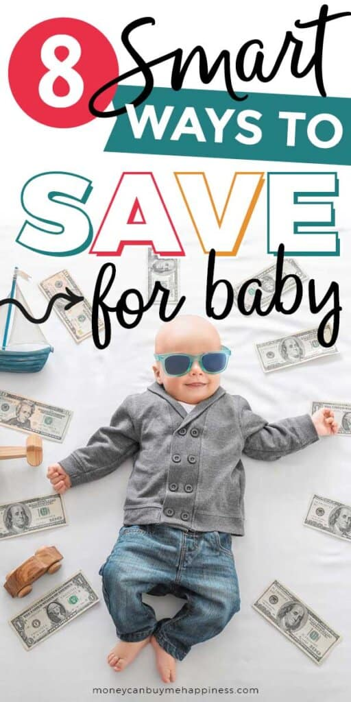 Wondering how to save money for baby? Here are my best tips plus I share exactly how we managed to save a lump sum before our first child was born.