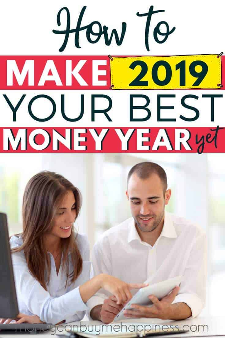 These financial resolutions for 2019 will help you save money, get out of debt and start building wealth. Check out the best money moves to make in 2019 with this list of helpful financial steps.  Make this year your best financial year yet with this simple plan to get your finances on track and make your money work for you. #financetips #getoutofdebt