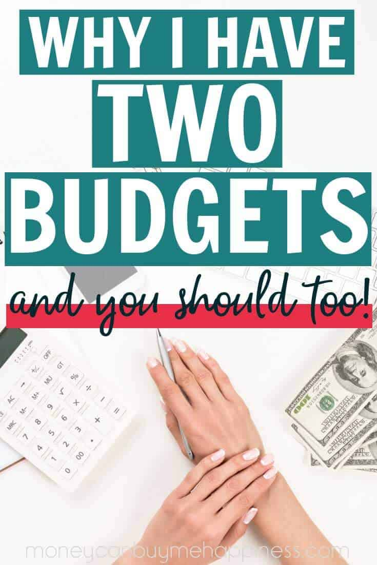 How do you prepare to financial changes? By creating a second budget. I have two budgets. One I use for everyday life when things are good, and one budget for when money is tight. It's a solid budgeting strategy, you should try it.