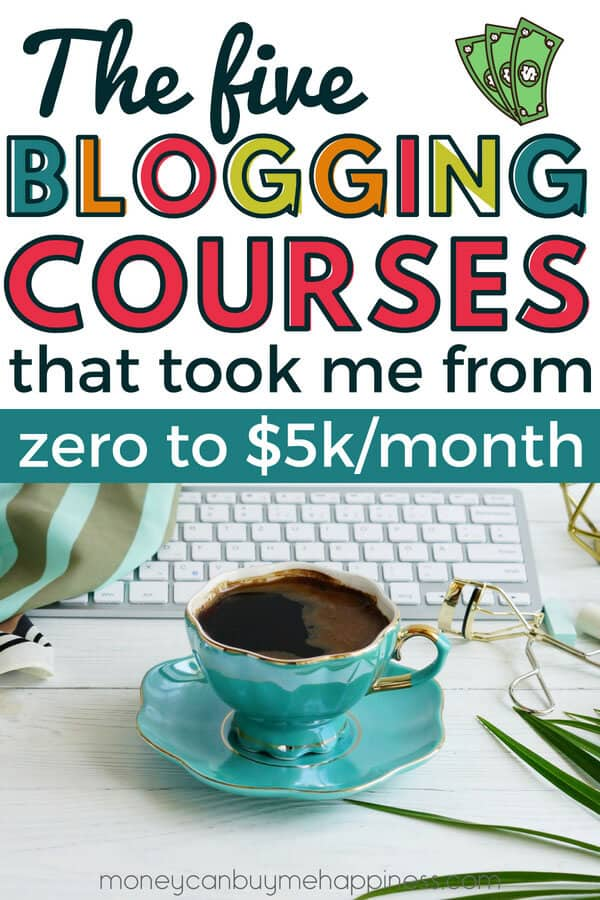 What's the best blogging course out there? In this guide to the best blog training courses I will show you the results I've had from five blog courses ranging in price from $47 right up to the more expensive blogging courses at several hundred dollars. If you want to make money blogging, be sure to read my results. If I can do it, so can you!