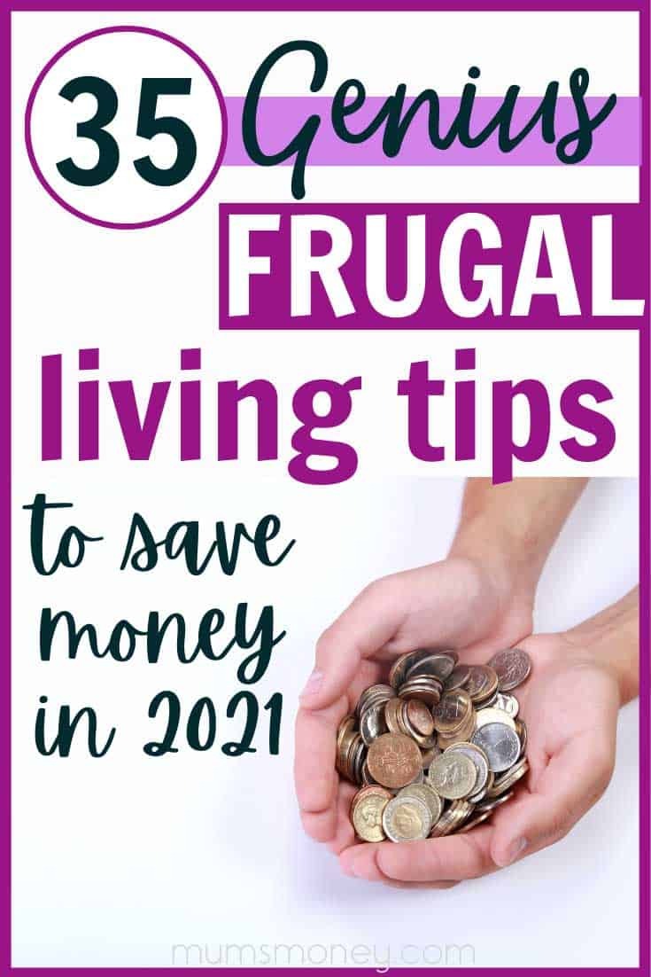Want to know how to live more frugally and save money? Living a frugal lifestyle doesn't mean giving up the things you enjoy. Spend on the things that give you maximum joy, reduce your spending on the things that don't matter to you and you will be living a more frugal and intentional life in no time at all. From bulking up meals with lentils to learning to love your library, these practical tips for living frugally will save you money.