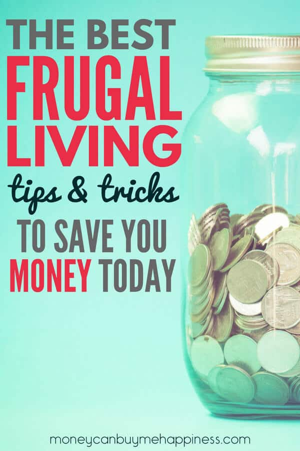 Want to know how to live more frugally and save money? I've shared a complete list of my best frugal living tips to help you on the road to a frugal lifestyle. Learn how to save more money and improve your health and finances at the same time.