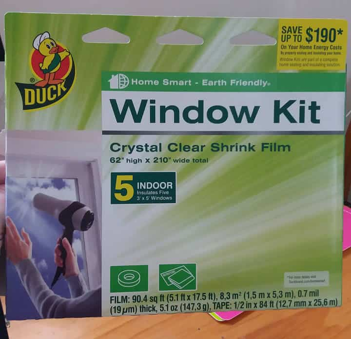 This window kit has saved us hundreds of dollars in electricity usage.