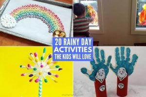 20 Rainy Day Activities Your Kids Will Love