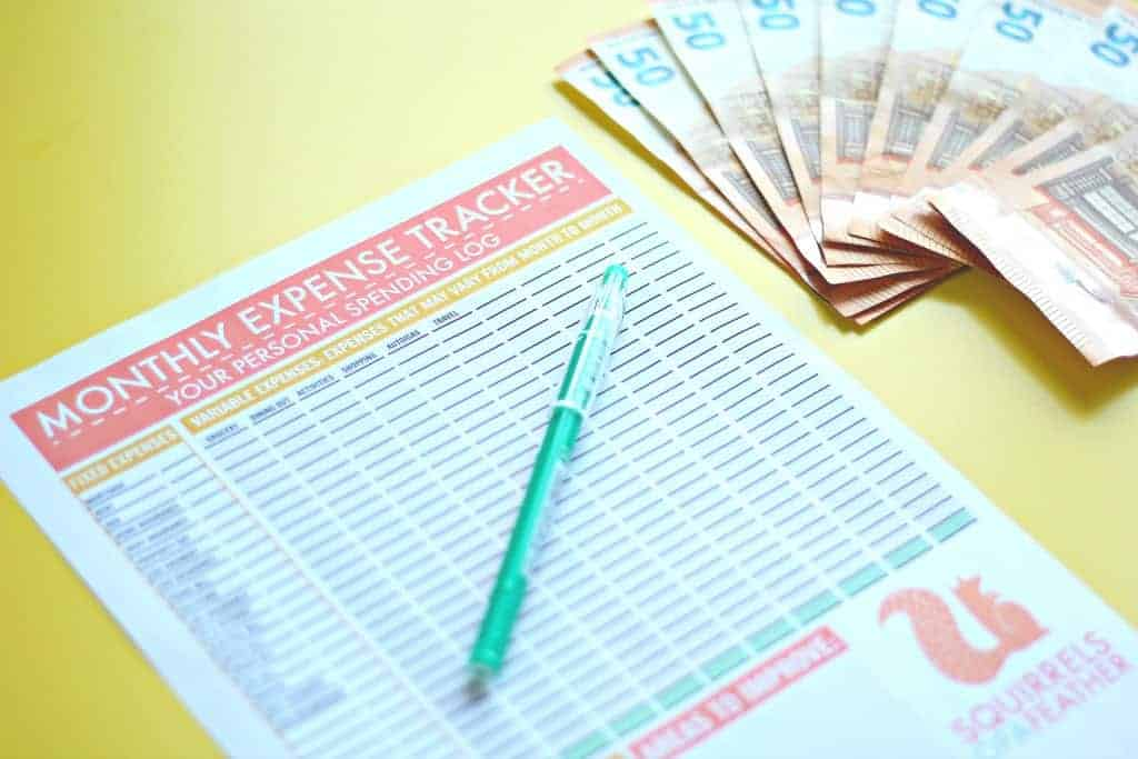 Free Expense Tracker From Squirrels Of A Feather