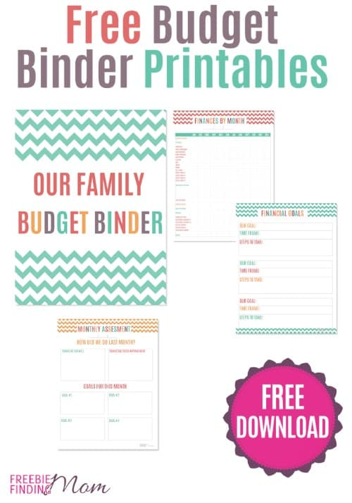 Free Budget Binder Printables
