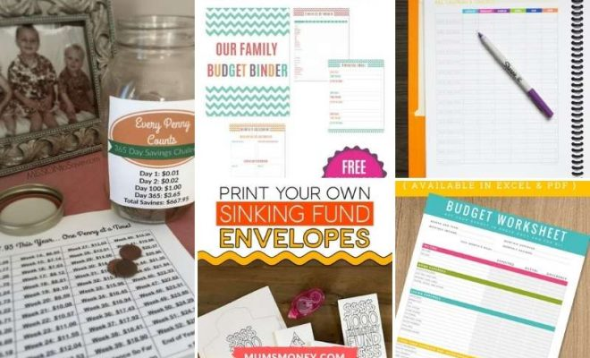 15 Free Budgeting Printables To Save Money in 2021