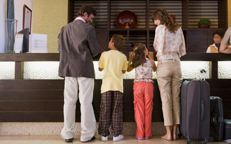 If the budget allows a family staycation at a hotel can be great fun